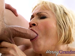 Grown up granny has anal