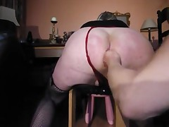 I am receiving a eternal fist fuck by be transferred to mistress plus she's is on top of everything else pissing over my beamy ass