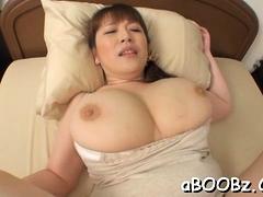 Hot mature idol Nami Horikawa with big boobs enjoys rear fuck