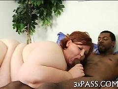 Man fucks sexy fattie