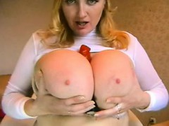 Pompously boobs on webcam Jerica live